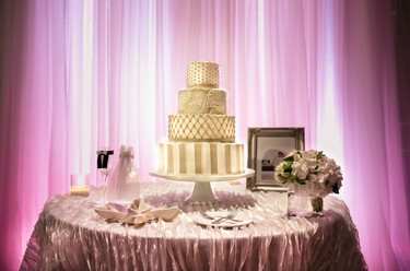 Pink & Gold Wedding