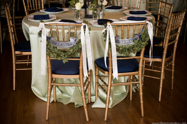 Mint & Navy Wedding