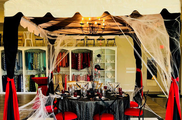 Halloween Tabletop Design 2018 - Goth Gala