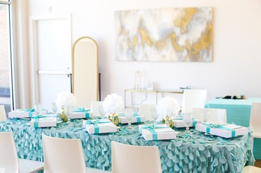 Elegant Tiffany's Inspired Birthday Party