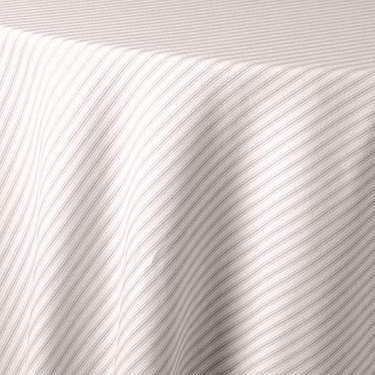Ticking Stripe Taupe Cushion