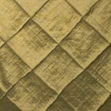 Gold Pintuck Tie/Sash