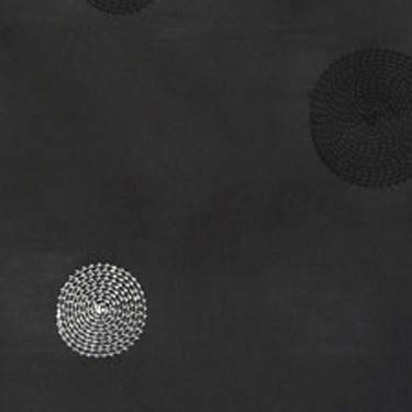 Taffeta Circle Black