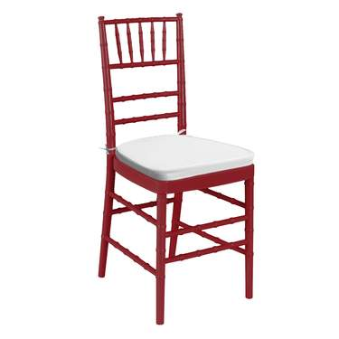 Red Chiavari Non-Stacking Chair
