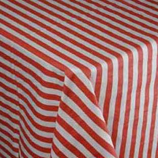 Stripe Red & White