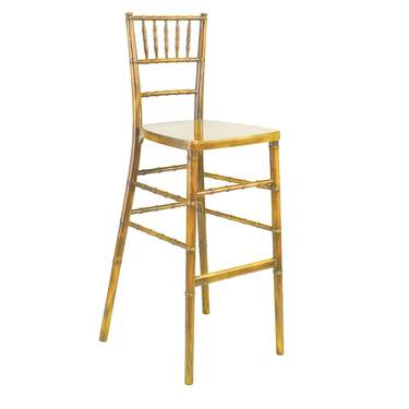 Natural Wood Chiavari Barstool