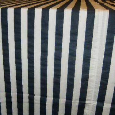 Black & White Awning Stripe