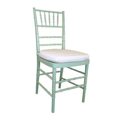 Chiavari Celadon Non-Stacking Chair