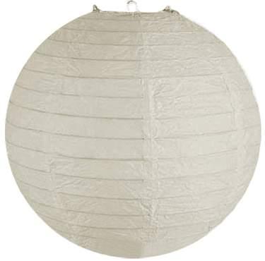 "Paper Lantern 24"" Round White"