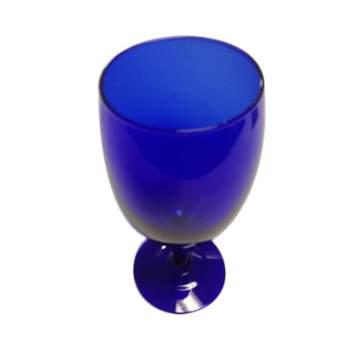Cobalt Blue Iced Beverage Glass