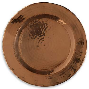 Copper Hammered Charger