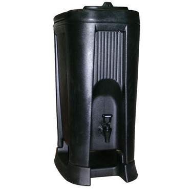 Black Insulated Beverage Dispenser