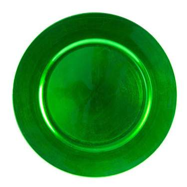 Green Lacquer Charger