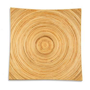 Natural Wood Charger 11.75""