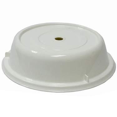 """White Plastic Plate Cover 11"""""""