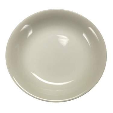 """White Round Porcelain Platter 15.5"""""""