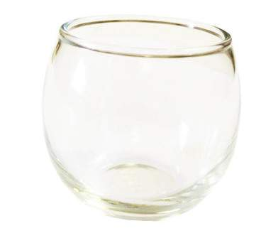 Roly Poly Votive Glass