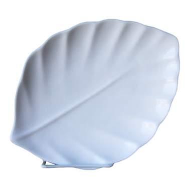 """Oval Leaf Porcelain Platter 7"""""""