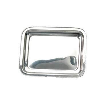 """Silver Andover Beaded Tray 10"""""""