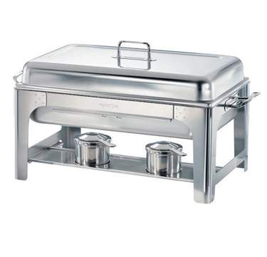 Brushed Stainless Steel Chafer 8qt