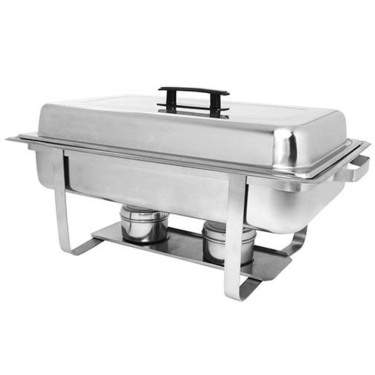Stainless Steel Rectangular Chafer 8qt