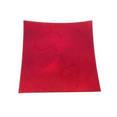 Red Lacquer Charger Square
