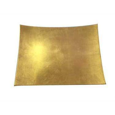 """Gold Lacquer Square Charger 12"""""""