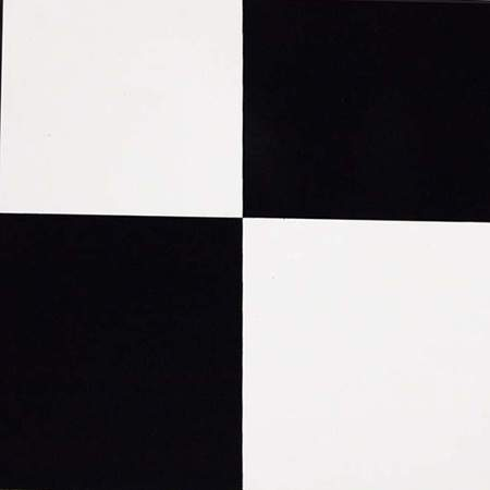 Black/White Large Checkered Vinyl
