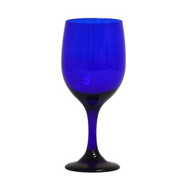 Cobalt Blue Water Goblet 11.5oz