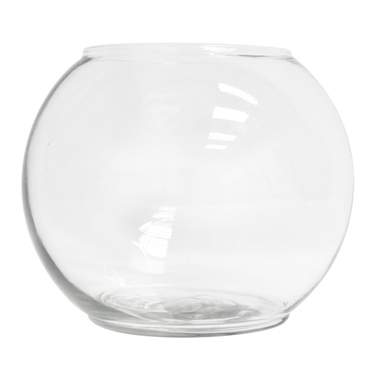 Bubble Bowl Glass Vase