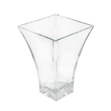 Blossom Flared Large Square Vase