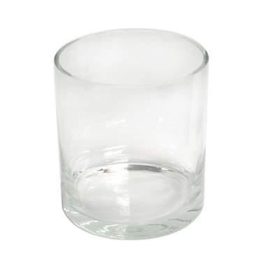 "Cylinder Glass Vase 7"" x 7"""