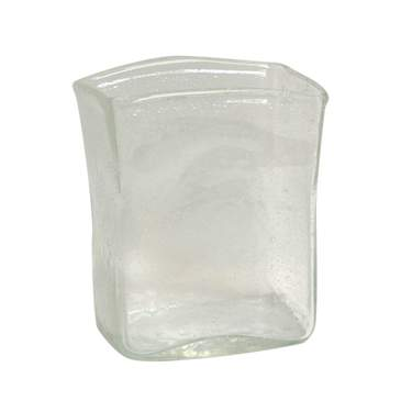 Clear Fizz Glass Vase