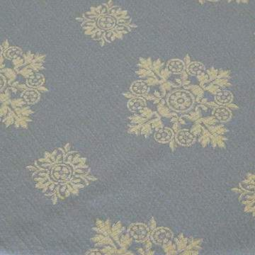 "Medallion Colonial Blue 85"" Square"