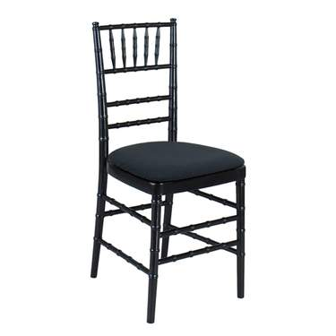 Black Chiavari Non-Stacking Chair