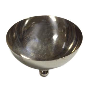 S/S Footed Round Bowl 6""