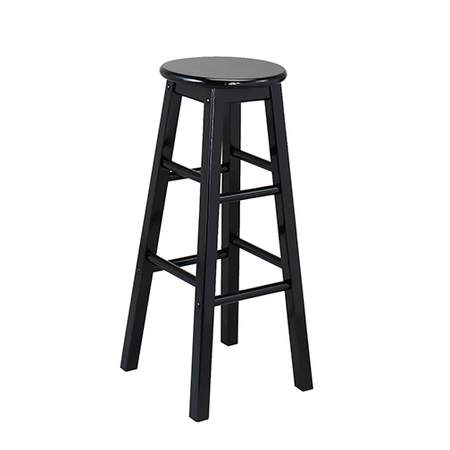 Black Wood Barstool Rentals Chair Rentals