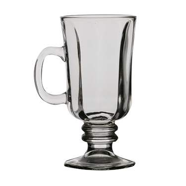 Pedestal Irish Coffee Glass