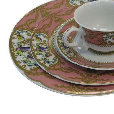 Sevres Antique Peach Pattern