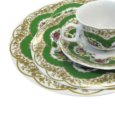 Sevres Antique Green Pattern