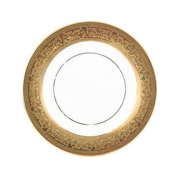 Gold Magnificence Demitasse Saucer