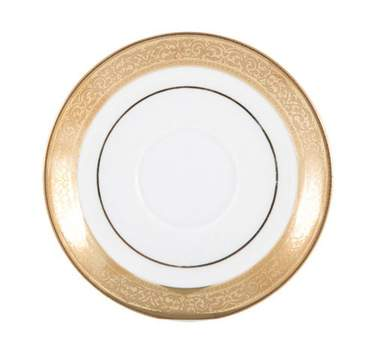 Gold Magnificence Saucer