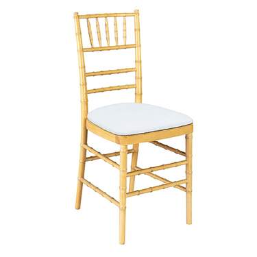 Natural Wood Non-Stacking Chiavari Chair