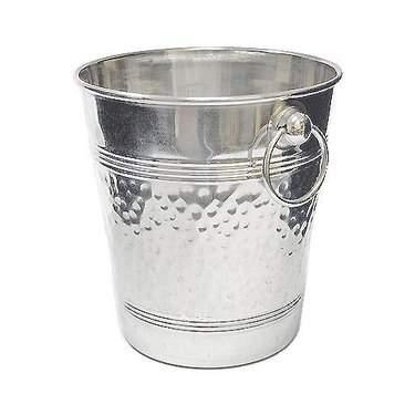 Aluminum Hammered Wine Bucket