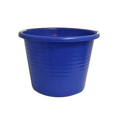 Plastic Ice Tub with Rope Handles