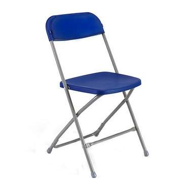 Blue Samsonite Folding Chair
