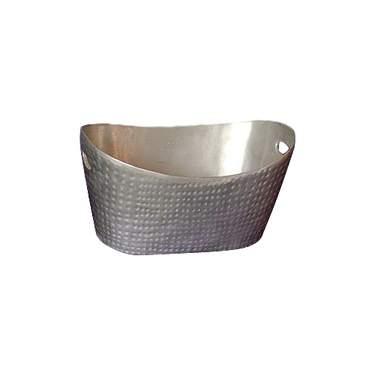 Hammered Aluminum Bread Basket