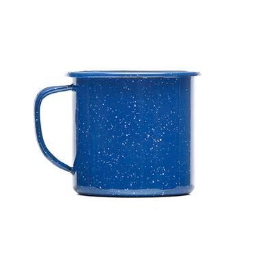 Blue Enamelware Mug