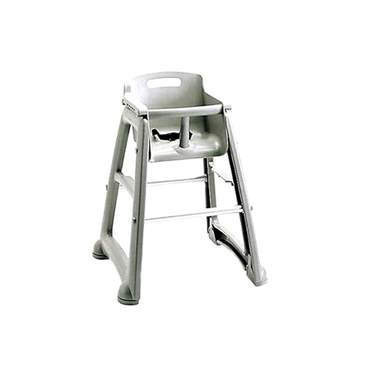 Gray Children's High Chair