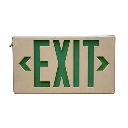 Emergency Exit Lighted Sign